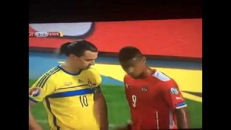 Zlatan: Kijken mag, aankomen niet!