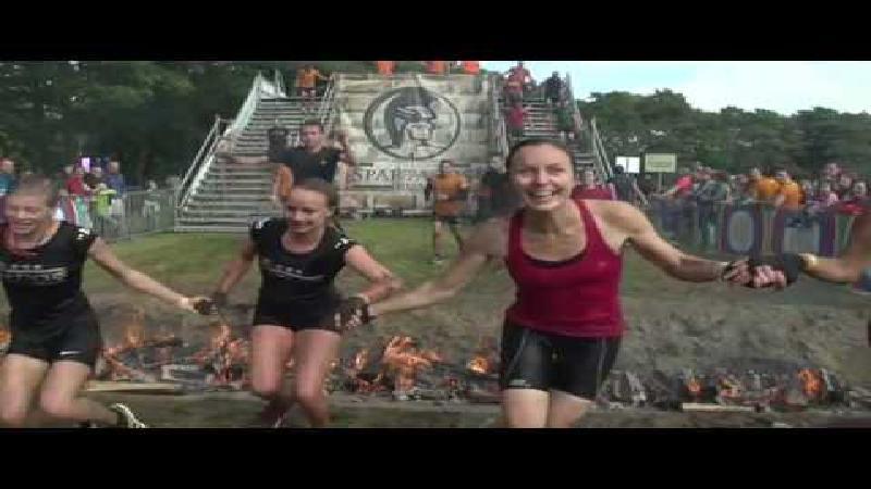 Veel vrouwen op loodzware Race Against Nature