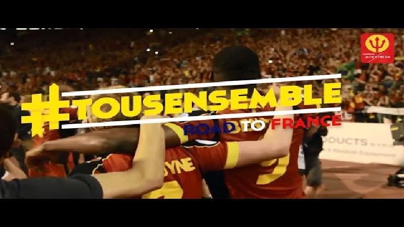 KBVB maakt fans warm voor Euro 2016!