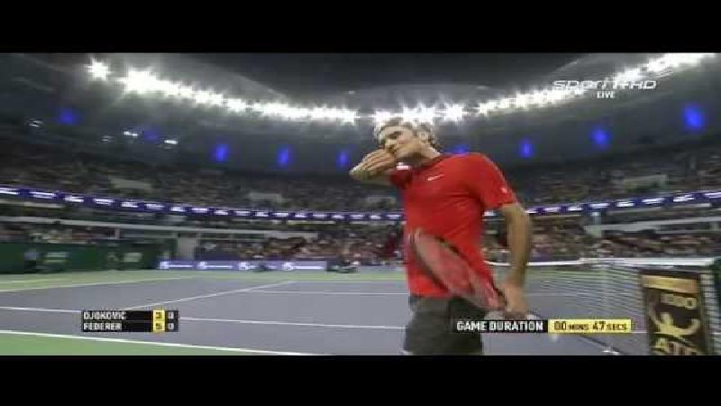 De perfecte game van Federer