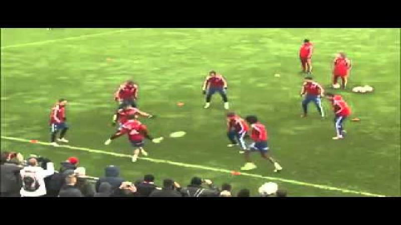 54 passes op 33 seconden op 20 vierkante meter (VIDEO)
