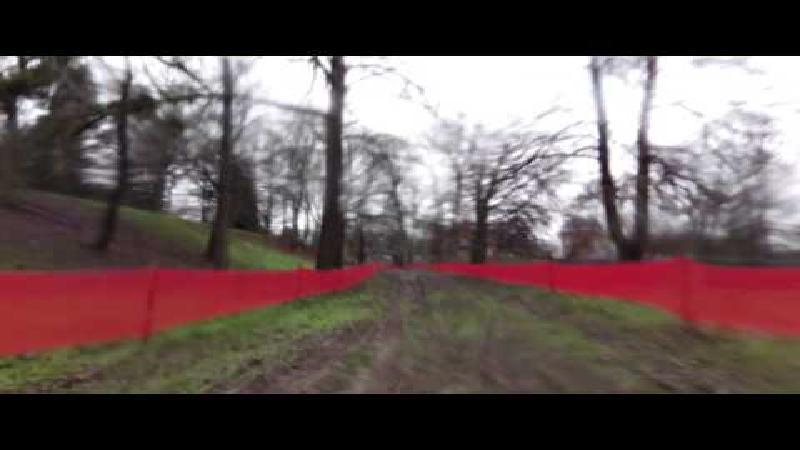 Vervecken verkent parcours Citadelle de Namur (VIDEO)