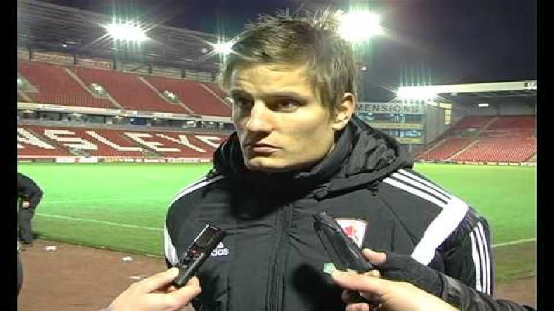 Vossen reageert na eerste doelpunt in FA Cup