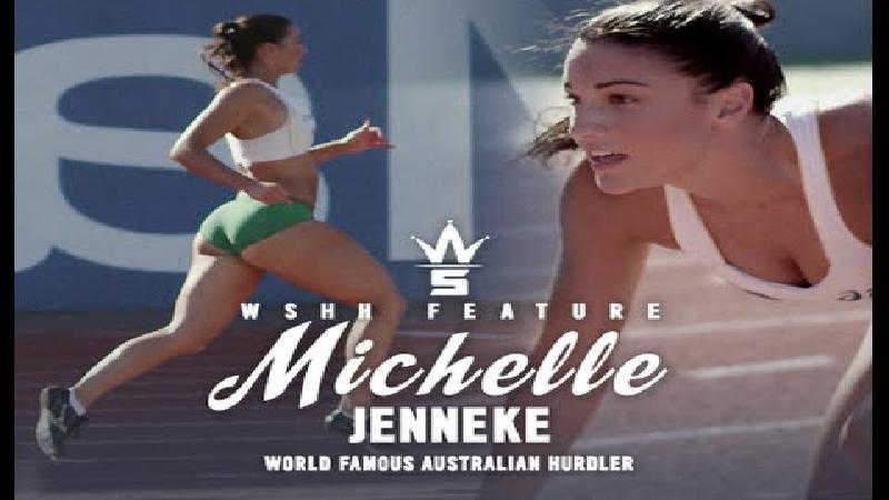 Michelle Jenneke doet het in slow motion (VIDEO)