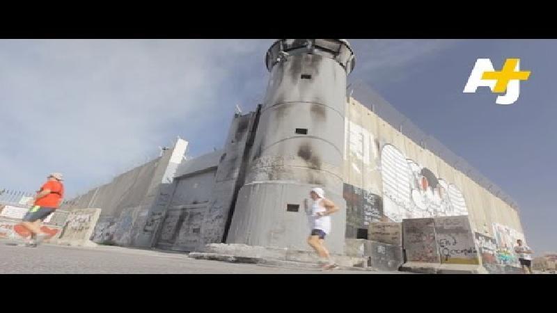 Marathon in oorlogsgebied (FOTO & VIDEO)