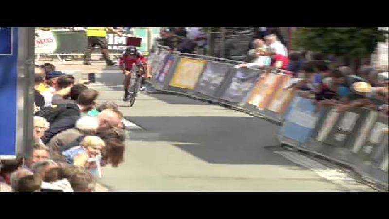 Brändle wint proloog Baloise Belgium Tour (VIDEO)