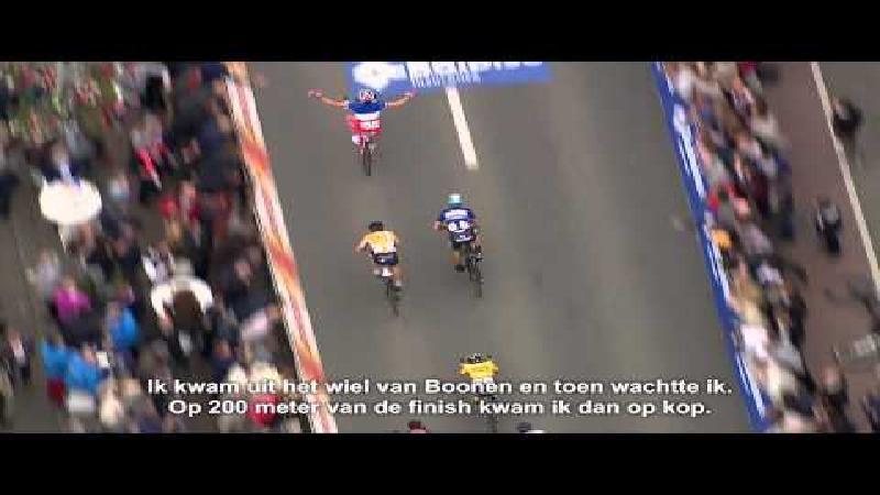 Démare houdt Boonen van bisnummer (VIDEO)