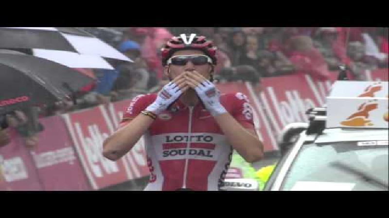 Eneco Tour: Laatste hectometers rit 6
