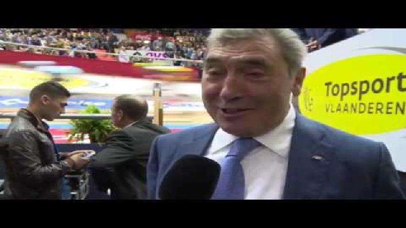 Merckx: 'Dit maakt me 50 jaar jonger' (VIDEO)