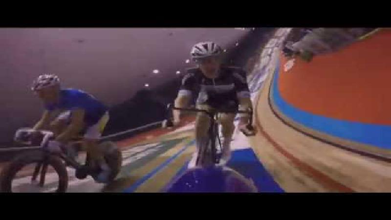 Derny rijden tijdens Lotto Z6sdaagse Vlaanderen-Gent
