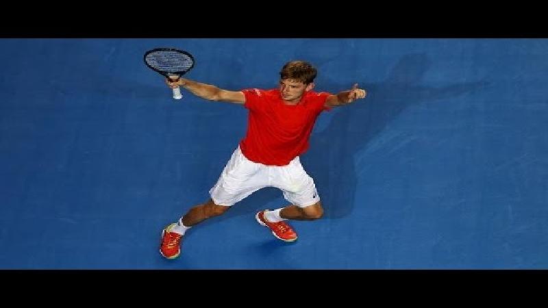 Goffin maakt het 'punt van de dag' op Australian Open (VIDEO)