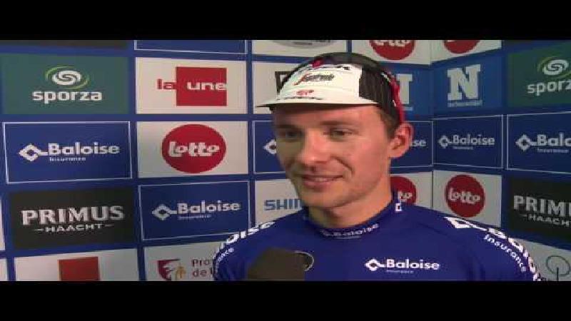 Theuns: 'Behoor zeker tot beste Belgische sprinters' (VIDEO)