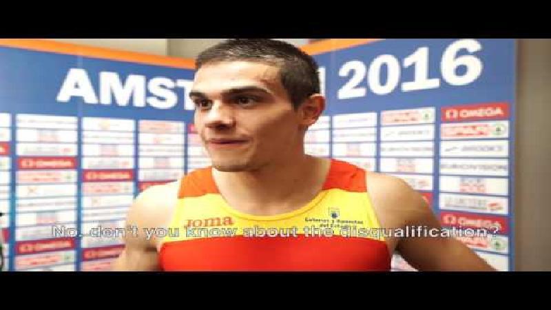 Hortelano is Europees kampioen, maar weet van niets (VIDEO)