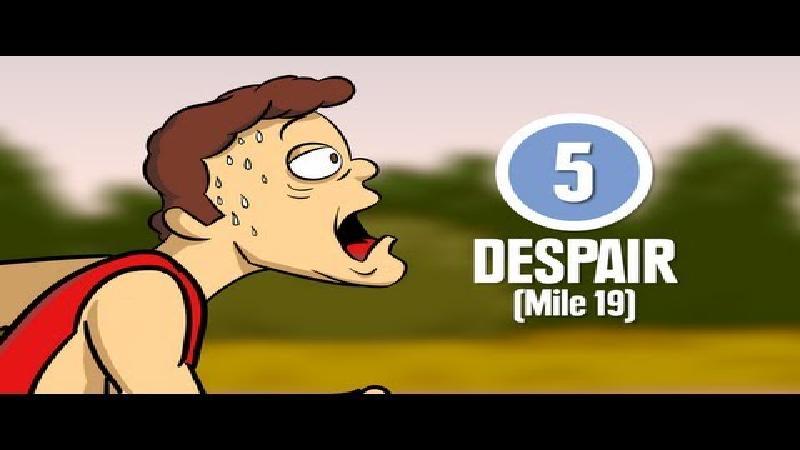 Animatiefilmpje toont 8 marathonfases die elke loper beleeft