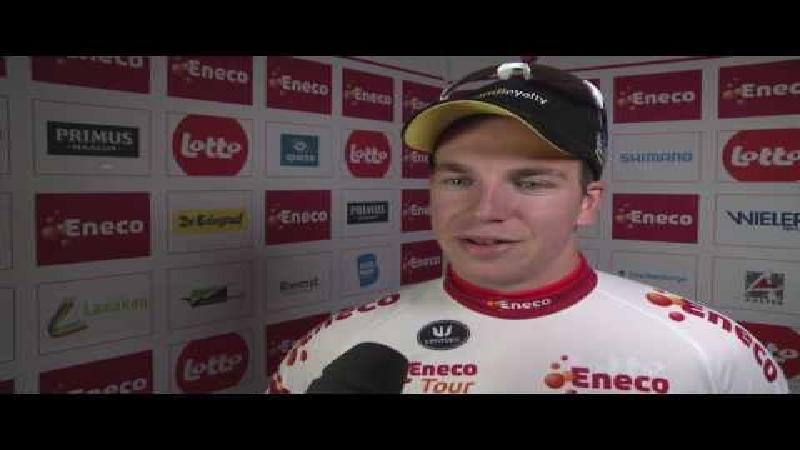 Eneco Tour: Réactions de Dylan Groenewegen après l'étape 1