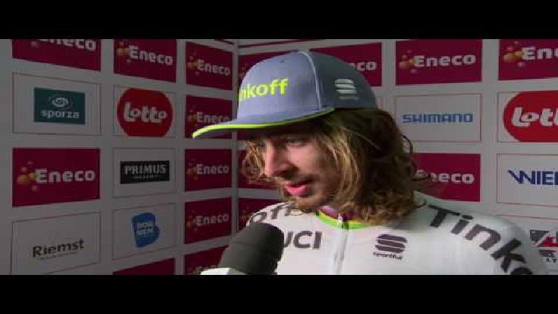 Sagan: 'Het wordt een secondenspel' (+ VIDEO)