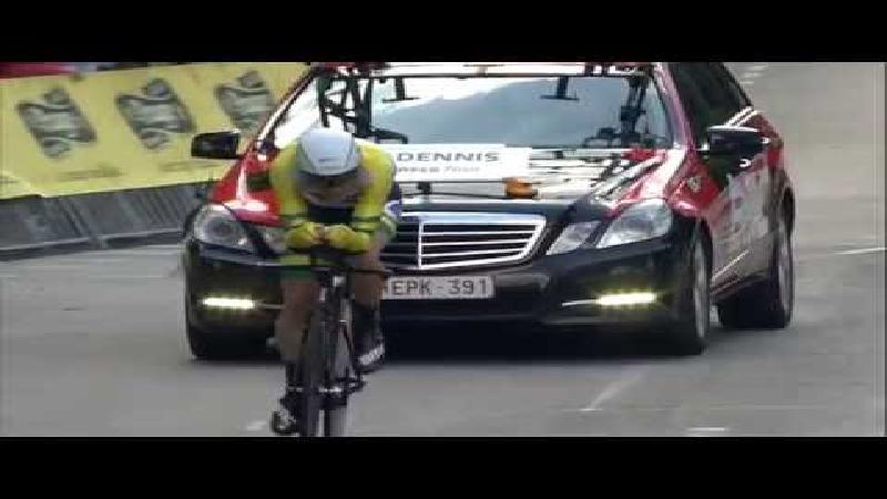 Eneco Tour: Samenvatting tijdrit