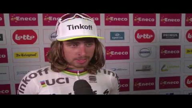 Slalommende Sagan spuit mist over WK-deelname (+ VIDEO)