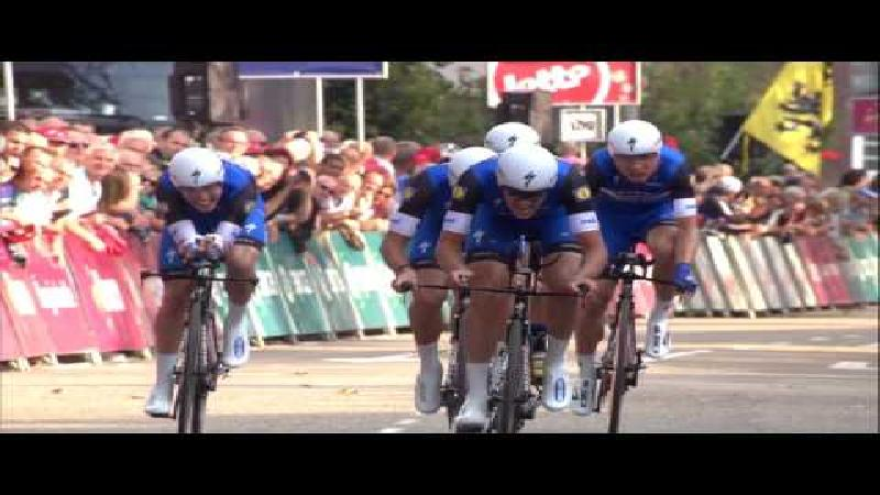 Eneco Tour: Samenvatting ploegentijdrit