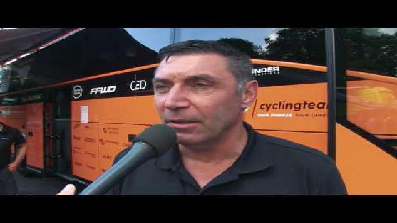 Eneco Tour: Roompot Oranje Peloton over de ploegentijdrit