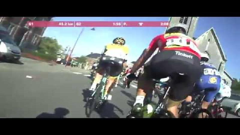 In de slipstream van Sagan met de on-bike cam!
