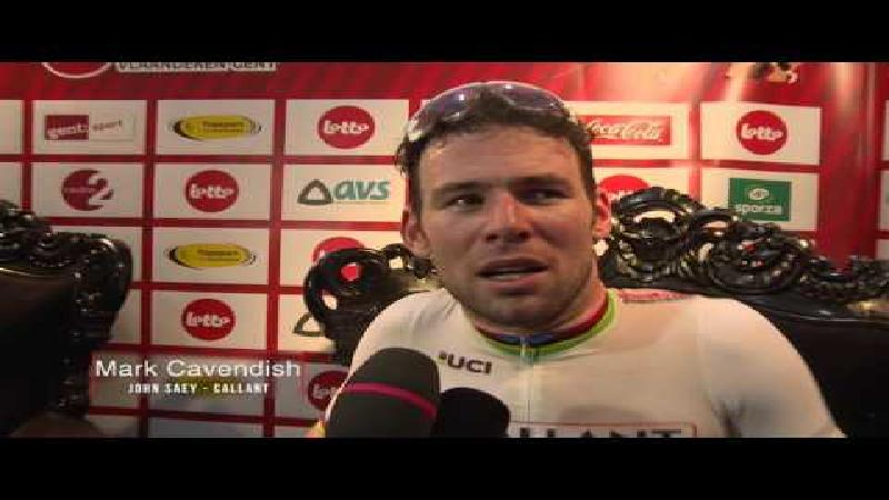 Cavendish: 'Eerste dagen was ik vreselijk'