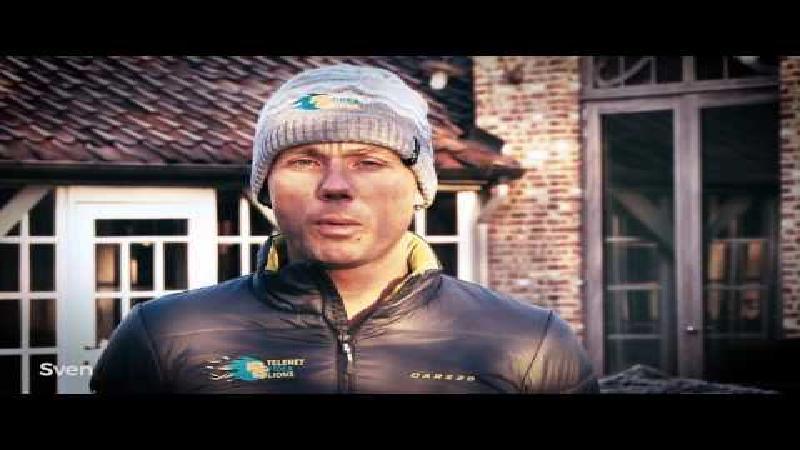 Sven Nys en Telenet Fidea Lions bedanken BOB (VIDEO)