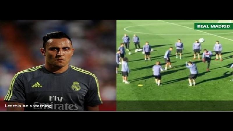 Stiekem filmen bij Real Madrid niet zonder gevaar (VIDEO)