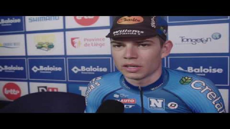 Van Aert: 'Ga vol voor het eindklassement'