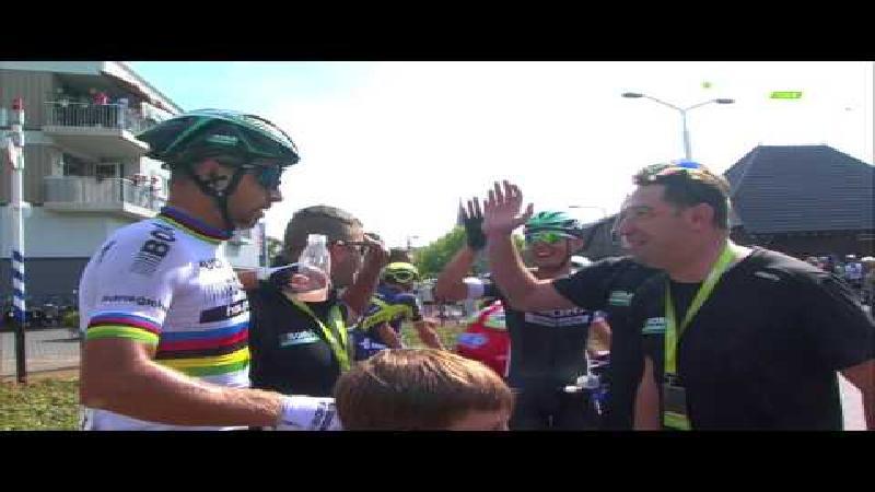 Sagan sur le fil à Venray
