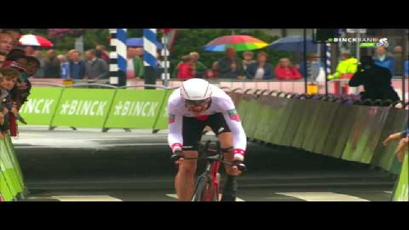 Stefan 'King' Küng does the double in the time trial