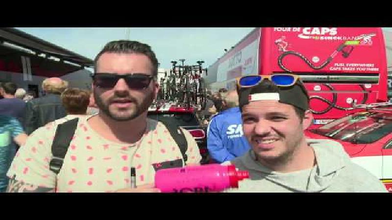 BinckBank Tour: selfies en handtekeningen verzamelen