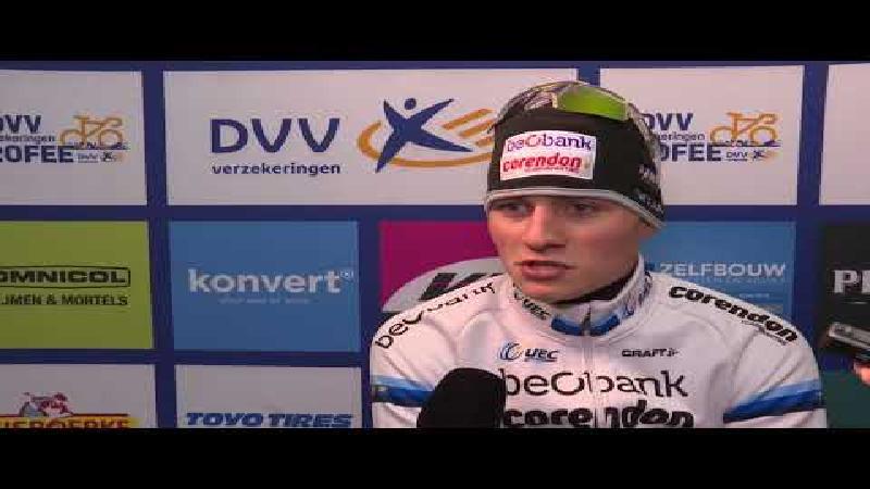 Van der Poel: 'Een van de mooiste crossen om te winnen'