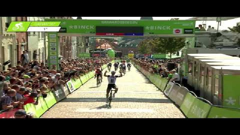 Matthews wins final stage, Mohoric hangs on to win BinckBank Tour