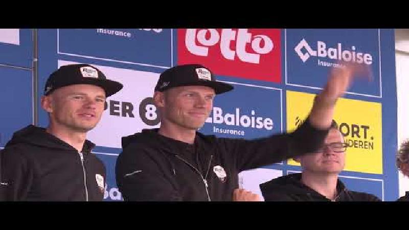 Renners Baloise Belgium Tour voorgesteld in Sint-Niklaas