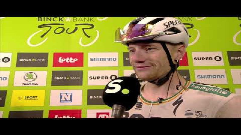 Sam Bennett: 'Mijn eerste overwinning in kampioenentrui'