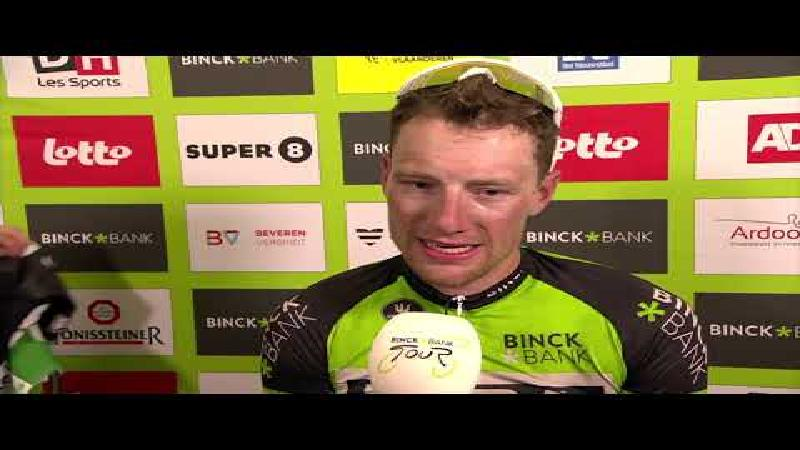 Sam Bennett: 'Fantastisch dat ik drie ritten op rij win'