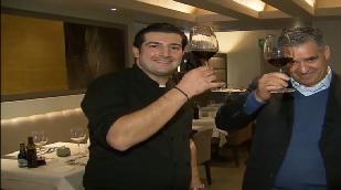 Abramovich eet in toprestaurant