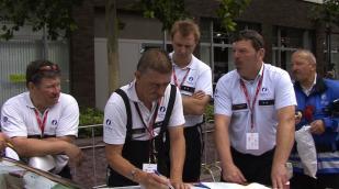 Politie leidt Eneco Tour in goede banen