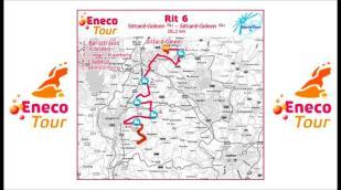 Eneco Tour 2011: Parcours étape 6