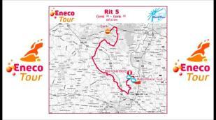 Eneco Tour 2011: Parcours étape 5