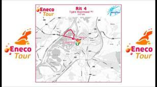 Eneco Tour 2011: Parcours étape 4
