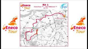 Eneco Tour 2011: Parcours étape 2