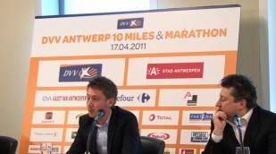 DVV Antwerp 10 Miles & Marathon voorgesteld