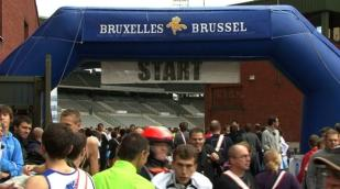 Nike Team heerst in Brussel