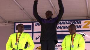 Levy Matebo wint Brussels Marathon