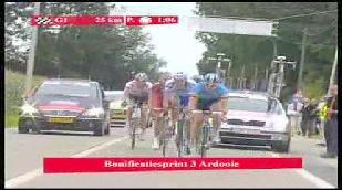 Boonen s'impose, Greipel leader