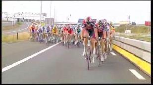 Tom Boonen wint sprint