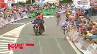 Nick Nuyens: vainqueur de l'étape et nouveau leader