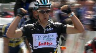 Philippe Gilbert plie le Tour de Belgique